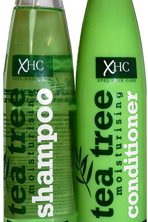XHC TEA TREE SHAMPOO AND CONDITIONER VOLUME SHINE DUO 400ml
