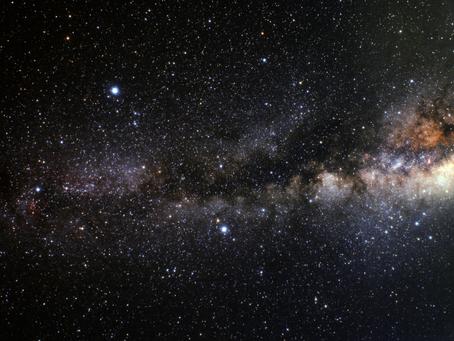 Observe a Via Láctea e o Rio Escuro