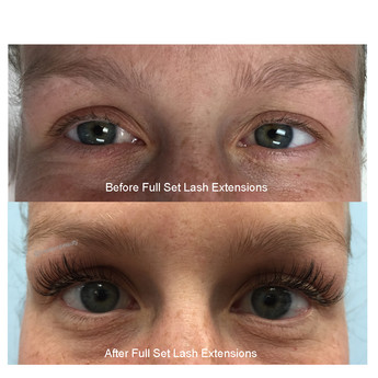Lashes Before After Modern Beauty Studio Madison WI