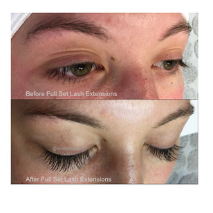 Lashes Before After Modern Beauty Studio