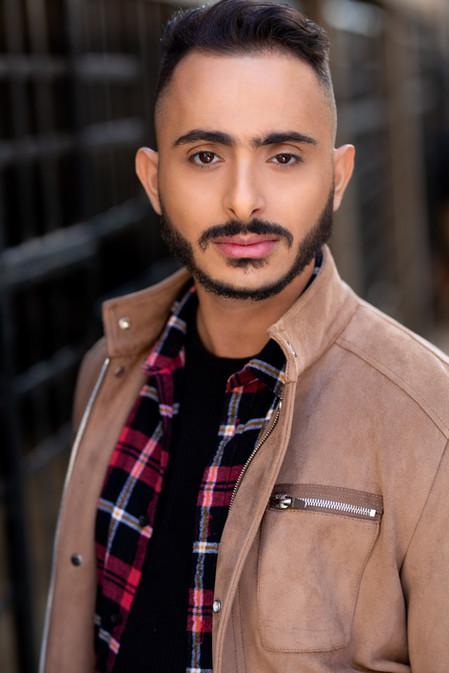 Ali Yassine Acting Headshot Vancouver