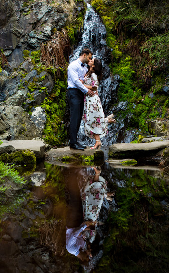 Lev and Kristen Couples Photography in Queen Elizabeth Park