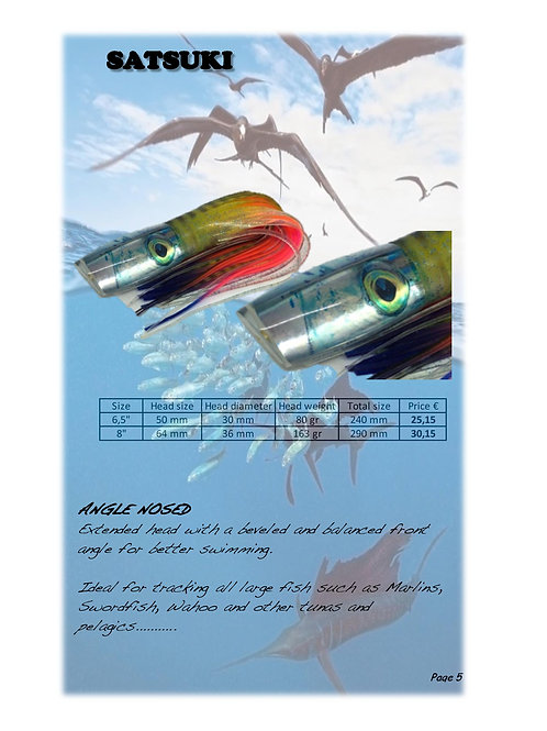 BONSAI - Satsuki 8″ Mackerel