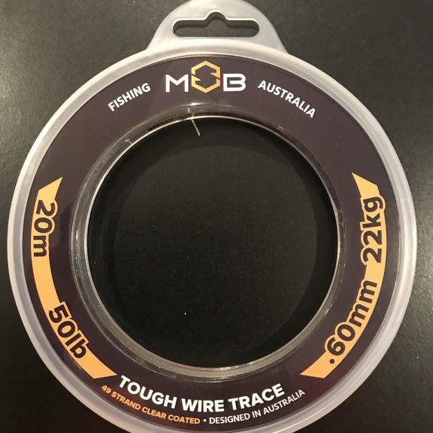 50Lb Tough Wire Trace - $38