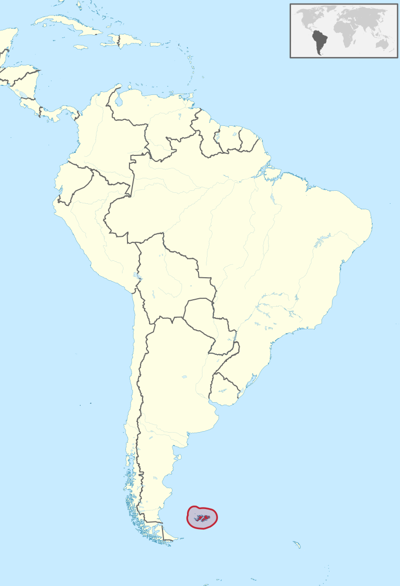 iles malouines, Argentine, Angleterre, Les muses de Paris