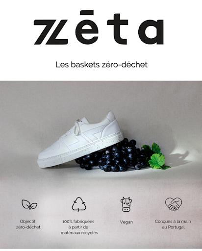 Basket, mode, écologie, vegan, Zèta, Les muses de Paris
