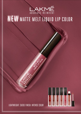 Lakme Melt Matte Liquid Lip
