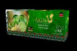 Kenyan Flavoured Green Tea LIME & GINGER