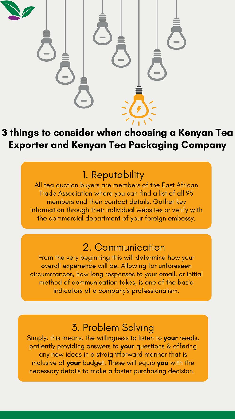 How to choose Kenyan tea suppliers and Kenyan tea companies