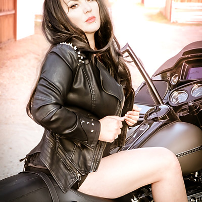 Rockabilly Motorcycle Shoot