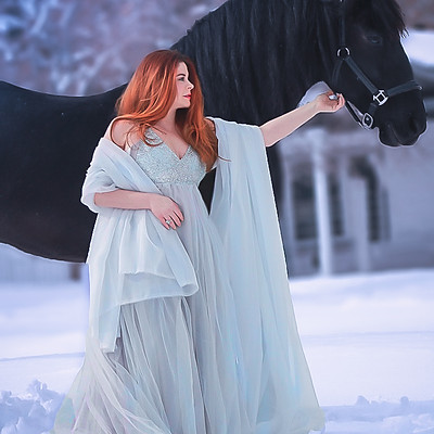 Snow Queen Shoot with Ashley Flom