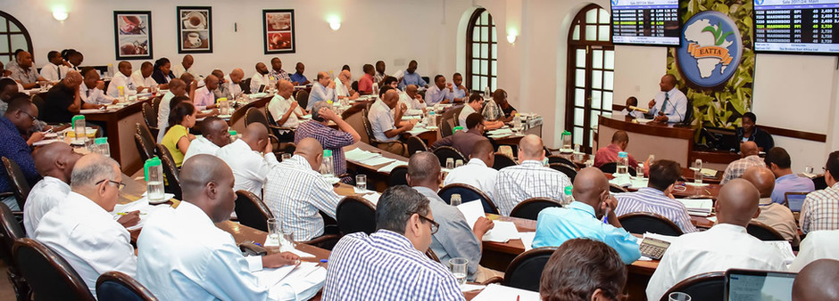 Mombasa Tea Auction - A meeting place for the biggest tea producers and Kenyan tea exporters.