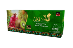 Kenyan Flavoured Green Tea KIWI & POMEGR