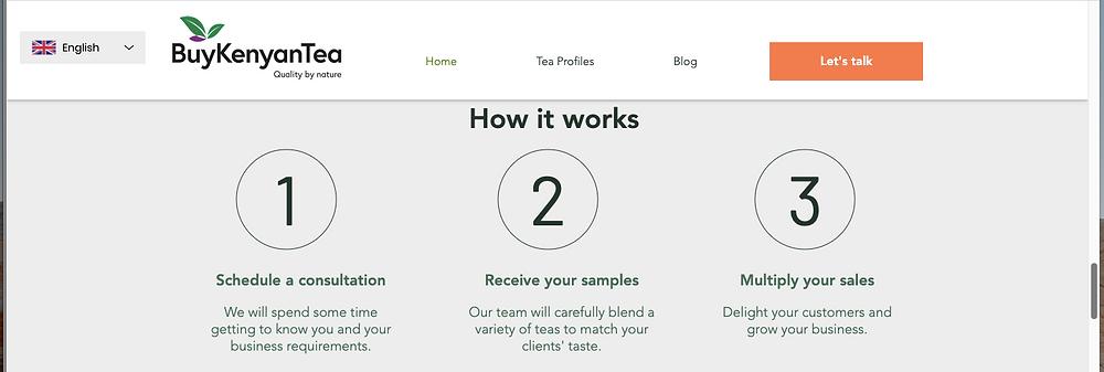Import and buy Kenyan tea in 3 simple steps