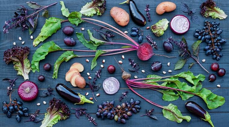 Purple foods like aubergines, red cabbage, red lettuce and kenyan purple tea are good for your health
