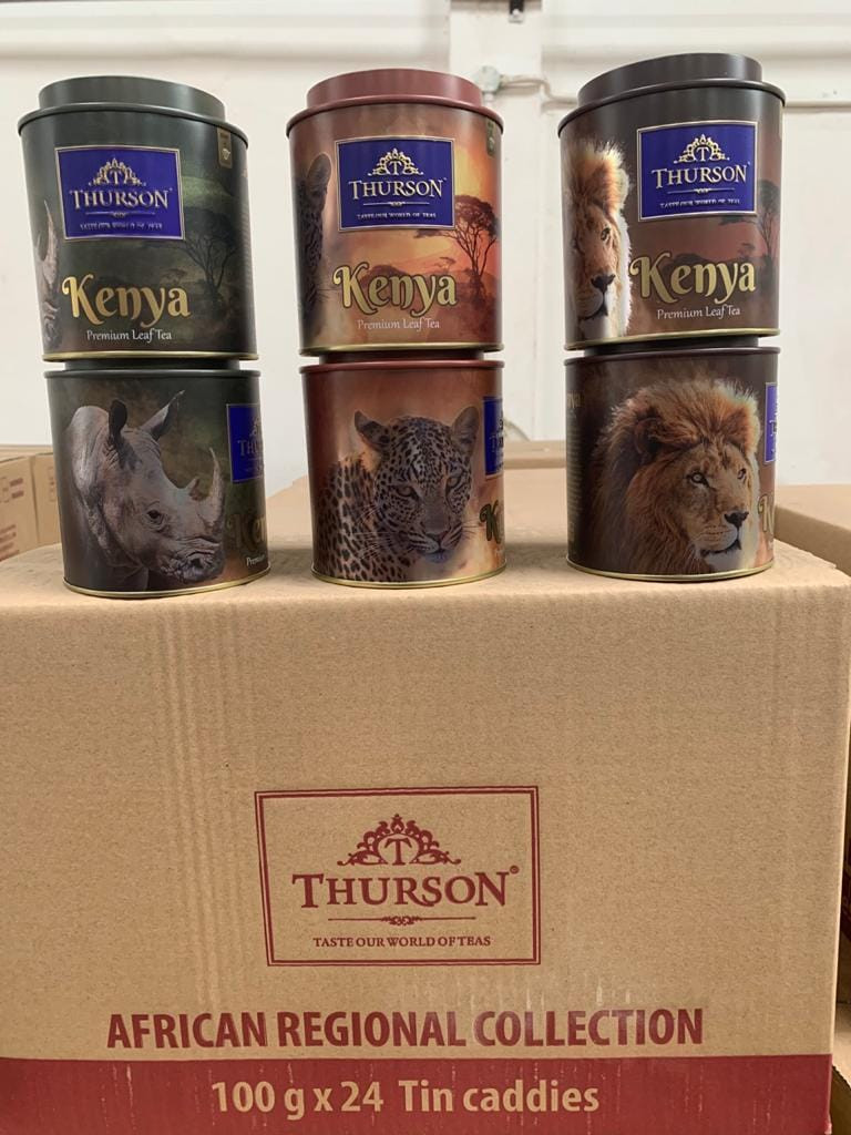 Best Kenyan tea brands THURSON private label packed in Kenya
