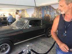 Mick and the'real deal' Bullitt