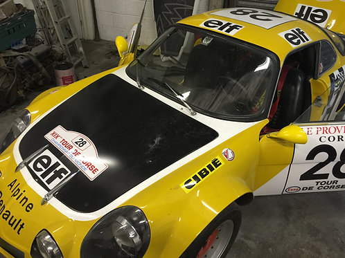 1973 RENAULT ALPINE A110 RALLY / ROAD