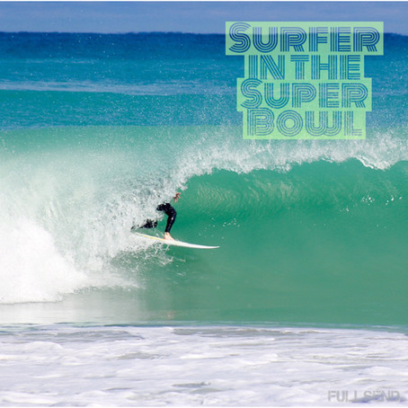 Surfer In The Super Bowl!