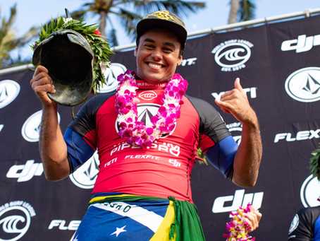 Never Give Up: Wiggolly Dantas Wins Volcom Pipe Pro At Last