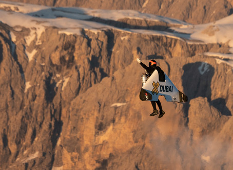 Jetman Sets Record With First Stand-Up Jetpack Takeoff