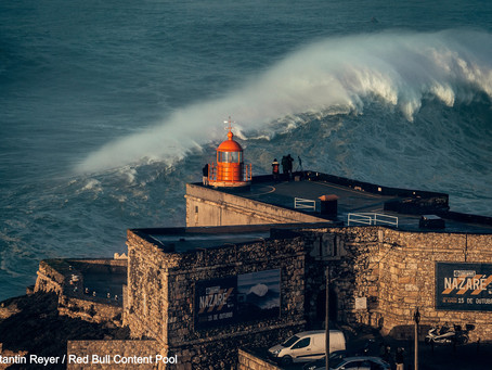 Monster Wave in Nazaré Hospitalizes WSL Athlete After Serious Crash