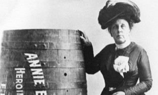 Badassery: Barrel Rolls Off Niagara