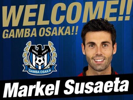 元スペイン代表MFスサエタ選手の加入発表。