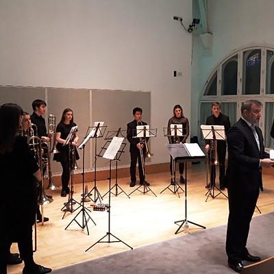 Simon Johnson & RCS Trombonists with Jonathan Hollick