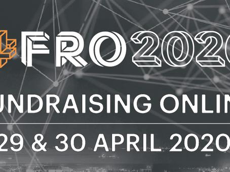 Fundraising Online será realizada no final de abril gratuitamente