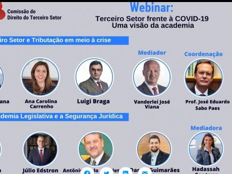 Webinar: Terceiro Setor frente à COVID-19 - Uma visão da academia