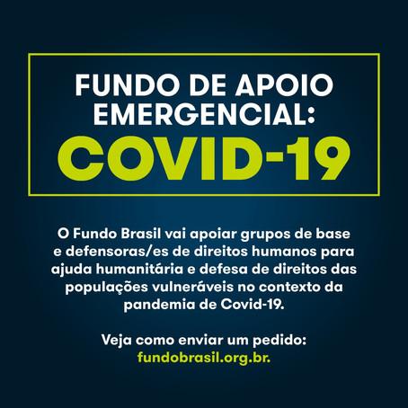 Fundo de Apoio Emergencial: Covid-19