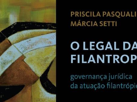 Versão digital do livro O Legal da Filantropia disponível gratuitamente