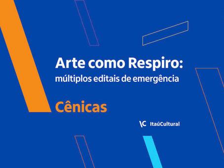 Covid-19   Itaú Cultural lança edital de emergência para artistas