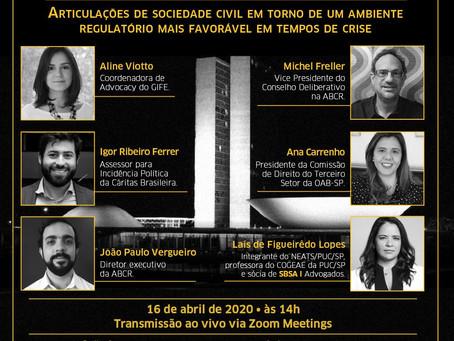 Articulações de sociedade civil por um ambiente regulatório mais favorável em tempos