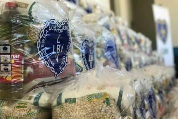 Em São Luís, LBV doa alimentos e ameniza impactos da Covid-19