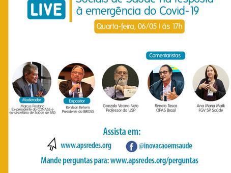 Live - O papel das Organizações Sociais de Saúde na resposta à emergência do Covid-19
