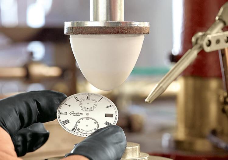 impressão de relógio com tampografia
