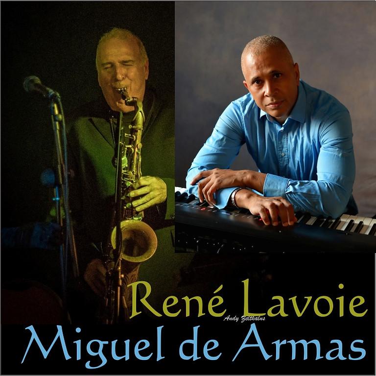 René Lavoie and Miguel de Armas