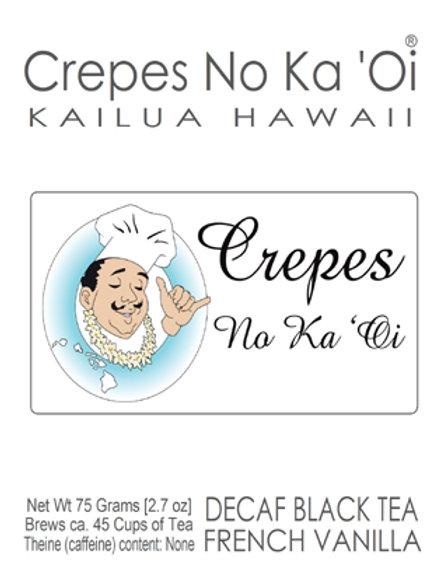 French Vanilla Madagascar Premium 75 gm Tea Can