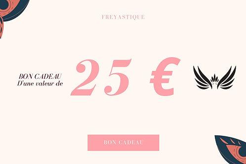 Carte cadeau de 25€