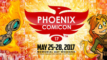 Returning to Phoenix Comicon with a Vengeance