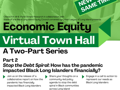 Stop the Debt Spiral: Economic Impact from Pandemic on Black Long Islanders
