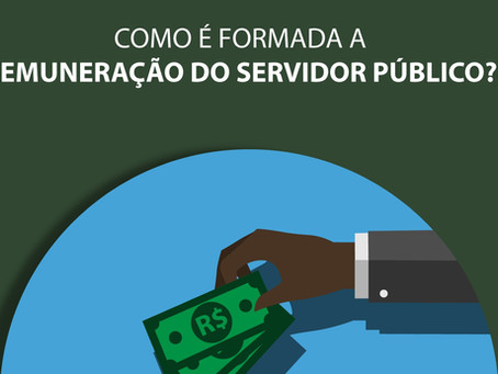 Como é formada a remuneração do servidor público?