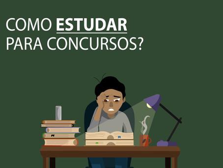 Como estudar para concursos?