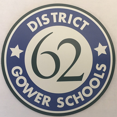 Gower 62 Car Magnet