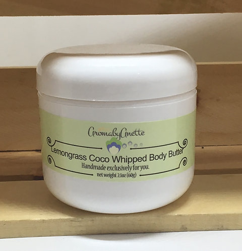 Lemongrass Coco Whipped Body Butter