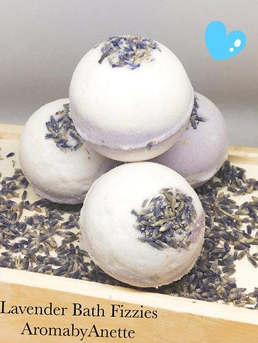 Spring Lavender Bath Fizzies