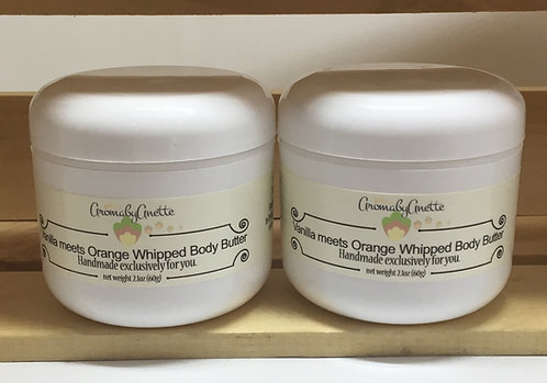 Vanilla meets Orange Whipped Body Butter
