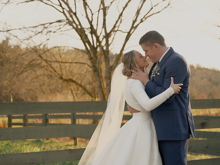 Wedding at Bodock Farms Burkesville, Ky: Eliza and Gavin